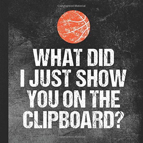 You On The Clipboard: Basketball Coach Memory Book ()