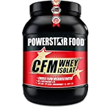 100% CFM WHEY ISOLAT - Whey Protein Isolate aus Weidenmilch mit 98% i.Tr. Proteingehalt - Höchste Qualität - Cross-Flow Microfiltrated - Made in Germany - 1000g (Vanilla)