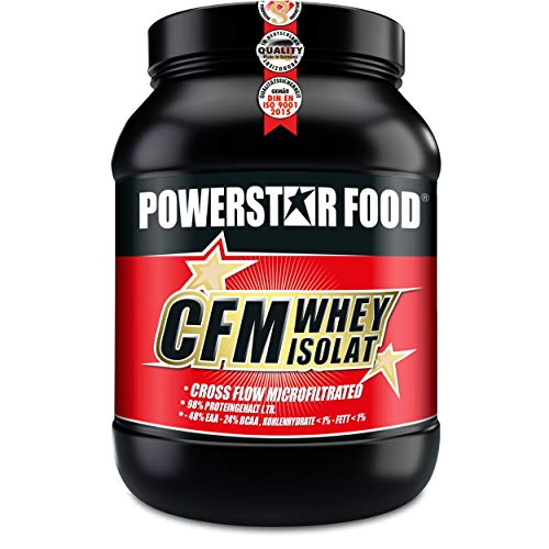 Cross In Cross (100% CFM WHEY ISOLAT - Whey Protein Isolate aus Weidenmilch mit 98% i.Tr. Proteingehalt - Höchste Qualität - Cross-Flow Microfiltrated - Made in Germany - 1000g (Nature))