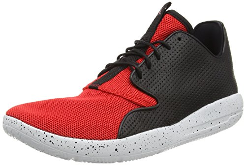 Nike Herren JORDAN ECLIPSE High-Top, Schwarz (018 BLK/UNVRSTY RD-PR PLTNM-UNVRST), 44.5 EU - Authentisch Herren-leder-halbschuhe