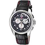 Swiss Alpine Military Thunder Homme 43mm Chronographe Date Montre 1621.9537 SAM