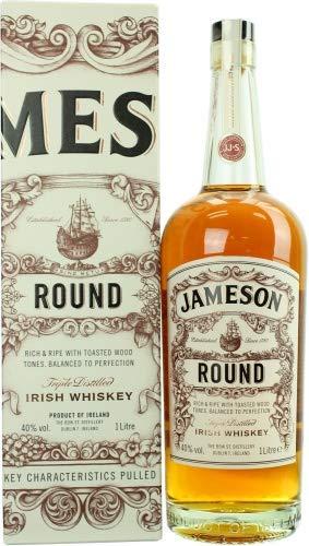 Jameson ROUND The Deconstructed Series Irish Whisky mit Geschenkverpackung (1 x 1 l)