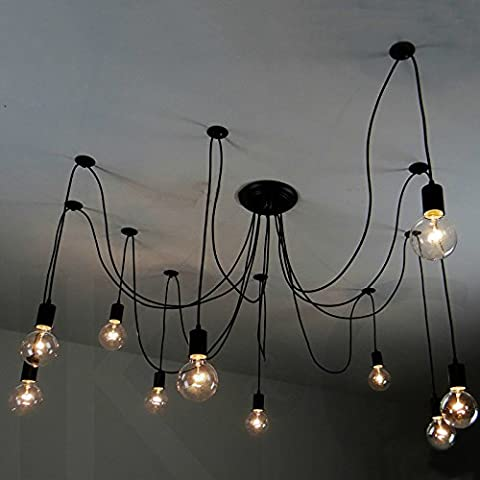 SSBY Loft Scandinavian living room bedroom window considering their individuality and creative clothing shop spider Bull chandelier ,