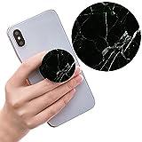 sanshun Ausziehbarer Sockel für Handy Halter und Griff für Smartphones und Tablets - Marmor Schwarz