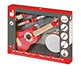 Janod - J07626 - Instrument de Musique - Set Musical Confetti Music Live