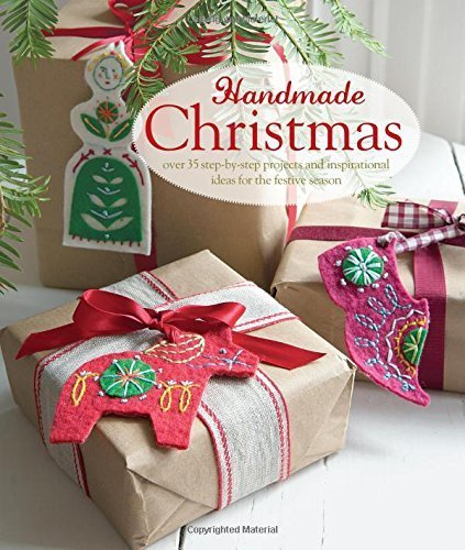 Handmade Christmas - over 35 step-by-step projects and inspirational ideas for the festive season (Craft) by CICO Books (2015-07-31)