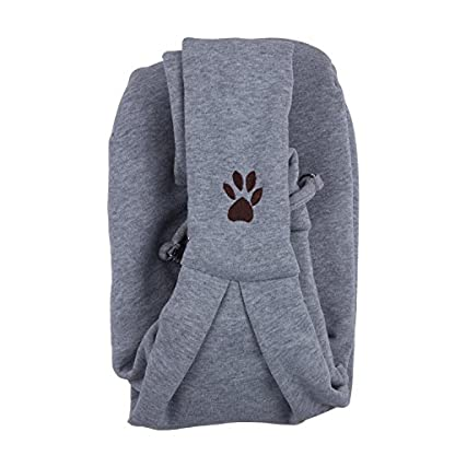 ZeWoo Transport Portable Outdoor Single Shoulder Handbag Soft Cotton Travel Pet Sling Dog Cat Carrier Bag Up To 4kg 3
