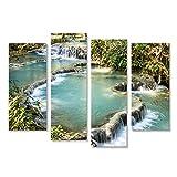 bilderfelix® Kuang SI Falls - Wasserfälle bei Luang