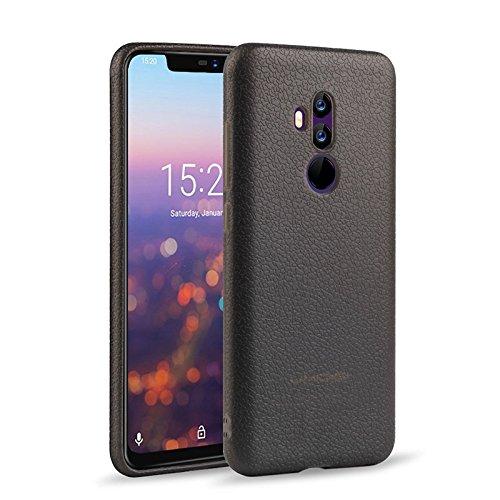 KuGi UMIDIG Z2 Hülle, Hochwertiger ultradünne Frosted [Stoßfest][Anti-Scratch][Schlank Passen][Anti - Wrestling] PC Schutzhülle Hülle für UMIDIG Z2 Smartphone.Schwarz