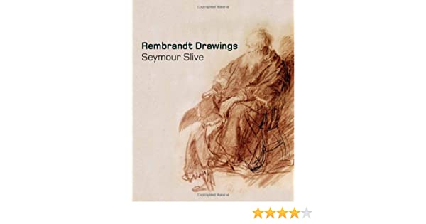 Rembrandt Drawings: Amazon co uk: Seymour Slive