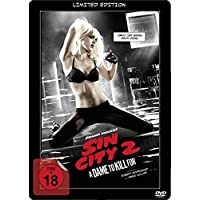 Sin City 2 A Dame to kill for Steelbook DVD, Limited Lenticular Steelbook Edition, Müller Exklusive, Uncut, Region 2