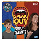 Hasbro Gaming Speak Out Kids Vs Parents Game