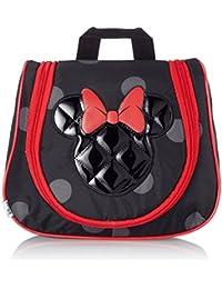 Disney Ultimate Junior Minnie Bolsa de Aseo, 3.9 Litros, Color Negro