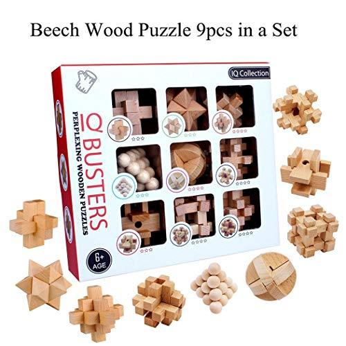 Creine Kinder Intelligenz Schnalle Kinderpuzzle Unlocking Toy Kong Ming Lock Set Fingerboards, Mini-BMX & Zubehör