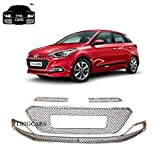 Trigcars Hyundai i20 Elite Car Front Grill Chrome Plated (Free Gift)
