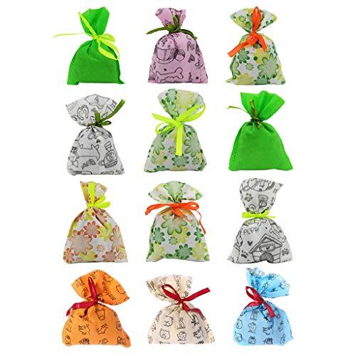 Xuniu Lufterfrischer Haus Geruch Deodorant Tasche Hanging Bambuskohle Aktivkohle