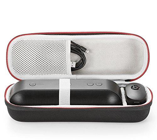 Custodia Rigida da Viaggio Trasportare Borsa per Apple Dottore Dre Beats Pill + Pill Plus Senza fili Bluetooth Speaker. Adatto a cavo USB e caricatore da muro