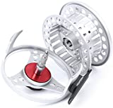 Maxcatch BLC Fly Reel,Large Arbor Fly Fishing Reel with Diecast Aluminum Body(1/2,2/3,3/4,5/6, 7/8wt)