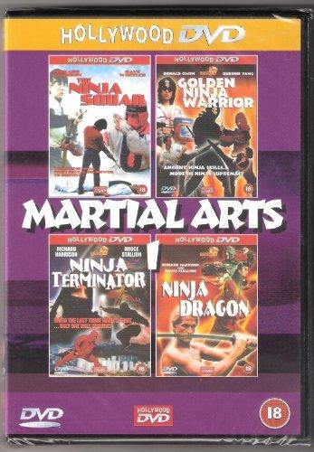 Martial Arts 1 (The Ninja Squad, Golden Ninja Warrior, Ninja Terminator, Ninja Dragon) -
