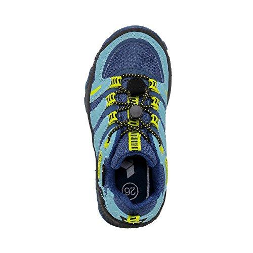 LicoFREMONT - Scarpe da trekking e da passeggiata Unisex – Bambini Marine (Marine/Blau/Lemon)