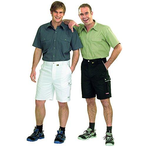 Arbeits-Shorts CANVAS 320 grün reinweiß