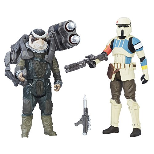 Star Wars: Rogue One Shoretrooper Captain vs. Bistan