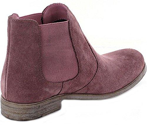s.Oliver Damen 25340 Chelsea Boots Pink (Mauve)