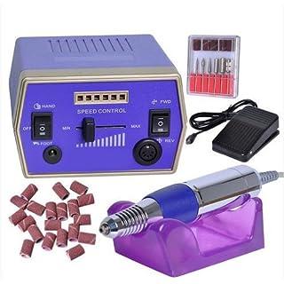 asiawill Professionelle Maniküre Pediküre Set elektrischer Nagelfräser Maschine Kit Maschine Kit