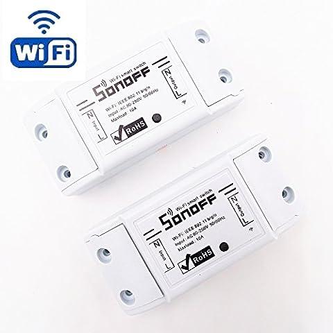 HEANTTV Sonoff Commutateur sans fil Universal Smart Home Automation Module