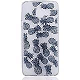 Galaxy A3 2016 Coque , YIGA Plein écran Ananas Transparent Silicone Doux TPU Housse Gel Etui Case Cover pour Samsung Galaxy A3 2016 A310 ( pas pour Samsung Galaxy A3 2015 )