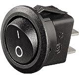 Hama KFZ Schalter (rund, 10 A/12 V) schwarz