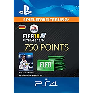 FIFA 18 Ultimate Team – 750 FIFA Points | PS4 Download Code – deutsches Konto