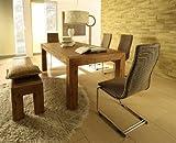 Florenz Esszimmertisch 200x100cm / Esstisch / Tisch / Holztisch / Massivholz - Akazie