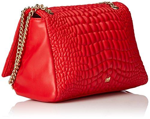 Cavalli - Medium shoulder bag #TrueDiva 003, Borse a Tracolla Donna Rosso (Rot (Red 060))