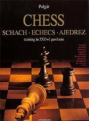 Chess schach, Echecs Ajedrez, training in 5333+1 positions English-German-French-Spanish-Italian-Dutch-Swedish-Hungarian-Russian-Japanese