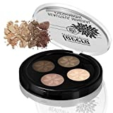 Lavera Beautiful Mineral Eyeshadow Quattro-Cappuccino Cream #2 by Lavera