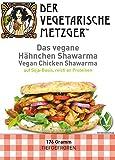 Veganes Hähnchen Shawarma (6 x 160g) Soja Fleischersatz mit 22,2% Protein - Low Carb -