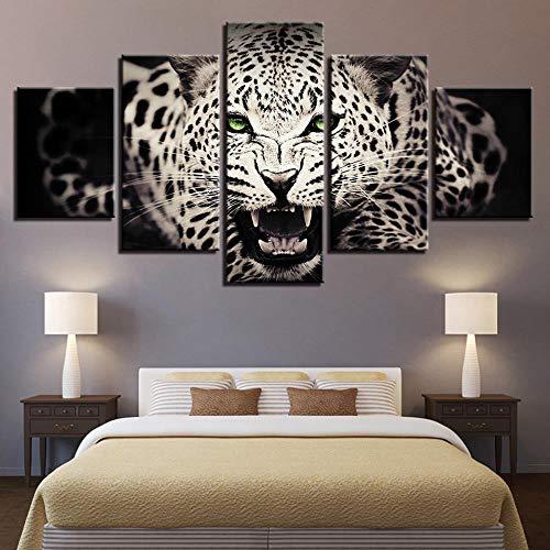 Shah HD Animal Salvaje Tigre Blanco Pintura Decorativa