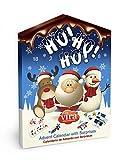 Maxi Calendario Avvento Natale con Figurine di Cioccolato al Latte e Gadget 50 gr