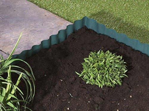 Petit bordures de pelouse 6m x 12cm - Fort Vert & Fexible