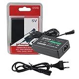 #2: Ekon PSP Charger For Sony P1000 / Sony P2000 / Sony P3000 Models - Black Colour