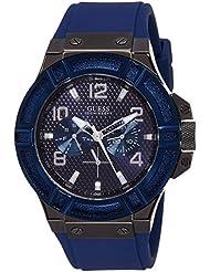 Guess Herren-Armbanduhr Chronograph Quarz Silikon W0248G5