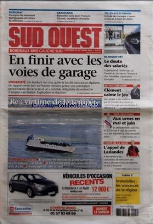 sud-ouest-du-25-10-2006-en-finir-avec-les-voies-de-garage-universite-gradignan-j-francois-geraud-jus