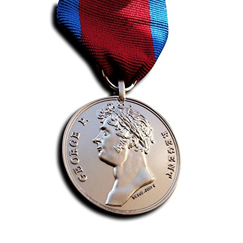 Militär Medaille Medaille Waterloo britische Armee Kampagne Medaille Schlacht Waterloo Ligny Bras 1815 Repro -
