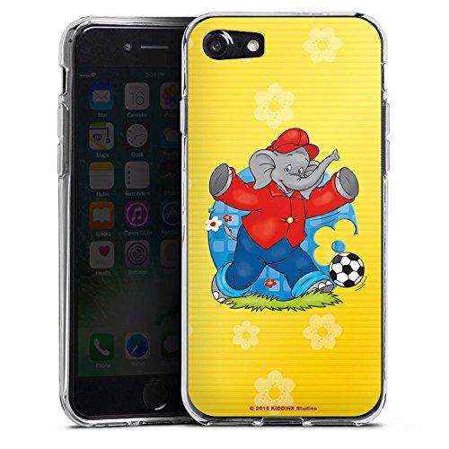 Apple iPhone X Silikon Hülle Case Schutzhülle Benjamin Blümchen Fanartikel Merchandise Fussballstar Silikon Case transparent