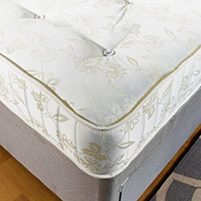 "Hf4You 4Ft 6"" Double Deluxe Beds 10 Inch Deep Regal Firm Orthopaedic Mattress"