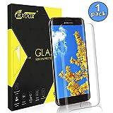 CRXOOX Verre Trempé pour Samsung Galaxy S7 Edge Protecteur d'écran [3D Courbe Bord]...