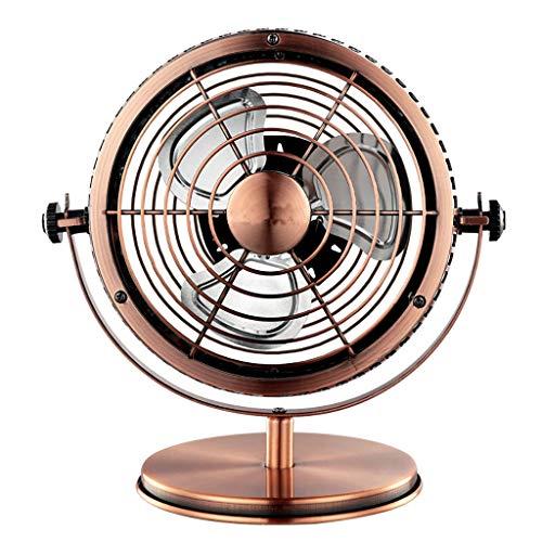 Silk Road Fan/Tischventilator Fan-USB-Plug-in-Modell (Schmiedeeisen Retro, 6 Zoll)