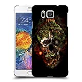 Head Case Designs Offizielle Riza Peker Schloß Schädel 7 Ruckseite Hülle für Samsung Galaxy Alpha