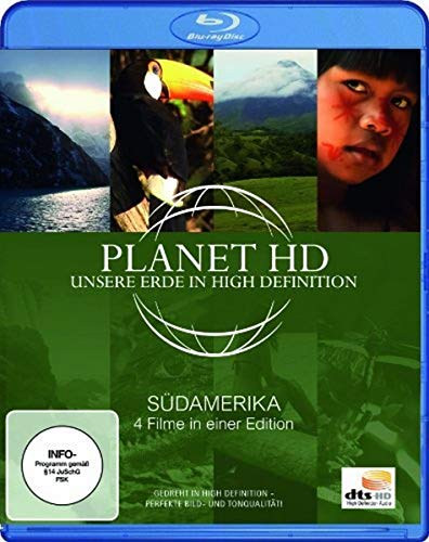Preisvergleich Produktbild Planet HD - Unsere Erde in High Definition: Südamerika [Blu-ray]